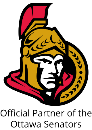 Official partner of the Ottawa Senators