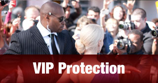 VIP Protection | men protecting people